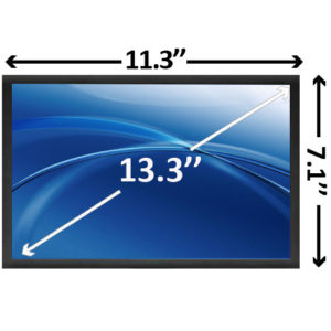 13.3 inch Glossy WXGA HD Laptop LCD Screen SCNG49
