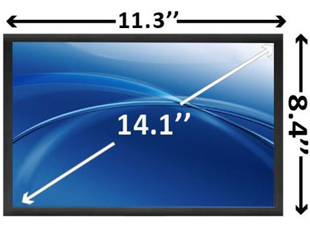 14.1 inch WXGA+ Laptop LCD Screen SCNH57