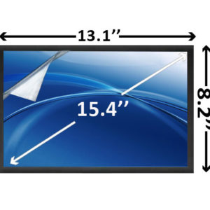 15.4 inch WXGA LED Laptop Screen Matte SCNK10M