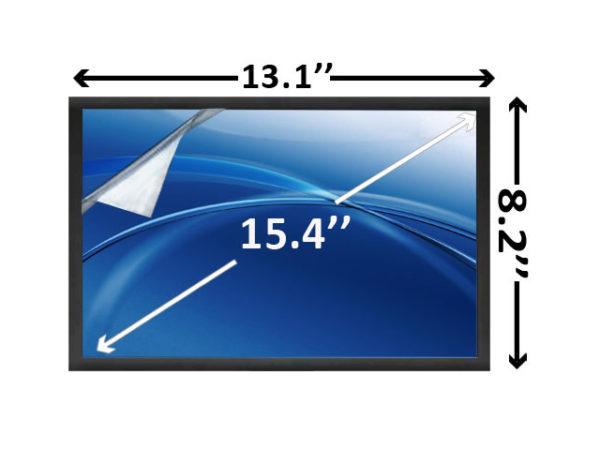 15.4 inch WXGA LED Laptop Screen Matte SCNK10M