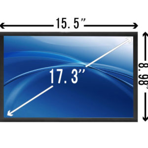17.3 inch Matte WUXGA Laptop LCD Screen SCNQ22