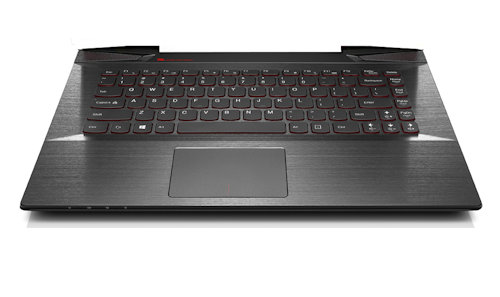 Lenovo Palm Rest with Keyboard UK 5CB0F78612 in Black